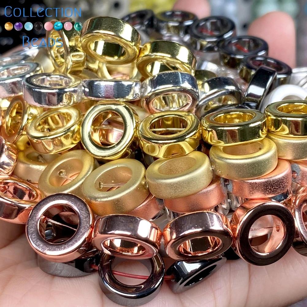 Hematite Matte Bracelet 12mm