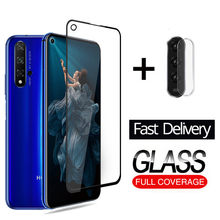 2IN 1 Camera Film For Honor 20 Pro Tempered Glass For Huawei Honor 20 YAL-L21 YAL-L41 Screen Protective Glass Honor 20 Len Films(China)
