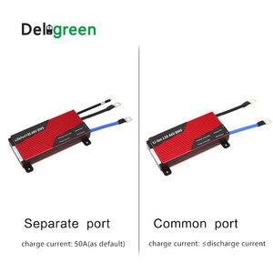 Image 3 - Batería de litio de 3,7 V para bicicleta eléctrica, BMS 13S 80A 100A 120A 150A 200A 250A PCM/PCB/BMS para 54,6 V 48V, paquete de batería de ion de litio 18650 para bicicleta eléctrica/UPS