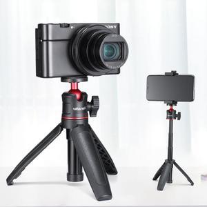 Image 4 - Ulanzi MT 08 שולחני הארכת חצובה נייד וידאו ערכת w מיקרופון אור ידית Rig Selfie מקל עבור Smartphone DSLR מצלמה Vlogging