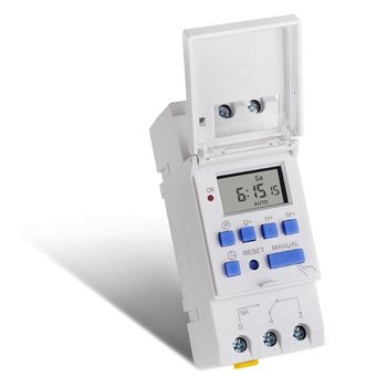цена на SINOTIMER AC 12~220V Weekly 7 Days Programmable Digital Time Switch Relay Timer Control Din Rail Mount for Electric Appliance
