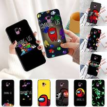 Among Us game Casual Phone Case For Samsung Galaxy S5 S6 S7 S8 S9 S10 S10e S20 edge plus