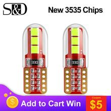 2Pcs T10 LED W5W WY5W 501 168 LED Car Reading Dome Lights BA9S BAX9S H21W BAY9s H6W T4W Auto Marker Lamps Wedge Clearance Bulbs