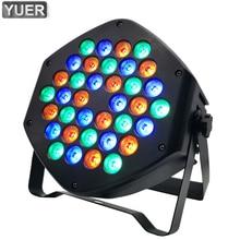 цены LED Par Light 36X3W Dj LED Light RGB Par LED Wash Disco Light DMX Controller Dj Effect For Party Light KTV Disco Ball Lights