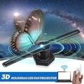 AC 100-240V 224 светодиодный Wifi 3D шлем-проектор голограмм голографический проигрыватель светодиодный дисплей изображений вентилятор с лампами р...