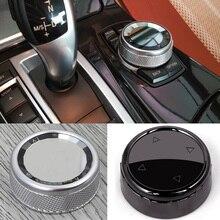 Car Multimedia Button Knob Cover for BMW X1 X4 X5 X6 1 2 3 5 Series F10 F18 F20 F21 F30 F35 F32 F33 F22 F23 F15 F85 F16 F48 F46