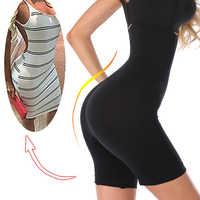 Thigh Shaping Pants High Waist Tummy Control Panties Women Slimming Body Shaper Modeling Strap Shapewear Briefs Underwear Corset
