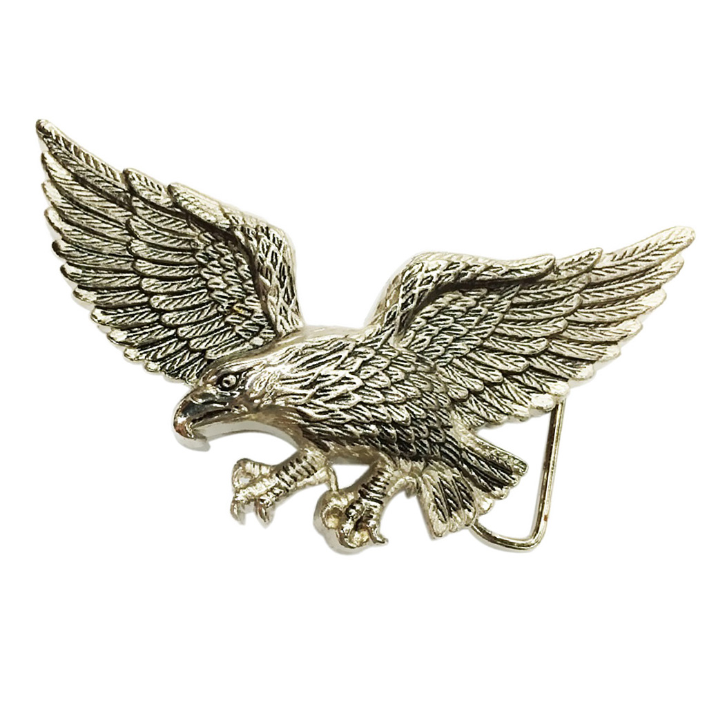 Vintage Buckle Western Belt Buckle Indian Belt Buckles Flying Eagle Buckle 11x8cm/4.33 X 3.14in
