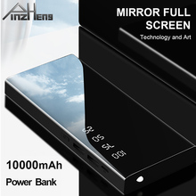 PINZHENG Power Bank 10000mAh LED Portable Charging
