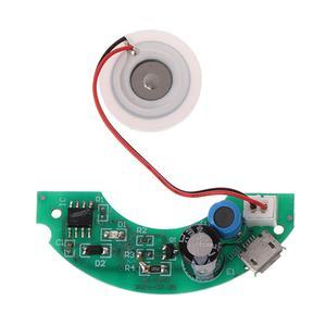 Image 4 - USB Mini Humidifier DIY Kits Mist Maker and Driver Circuit Board Fogger Atomization Film Atomizer Sheet Mini Oscillating