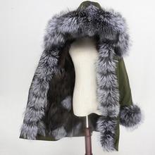 OFTBUY 2020 Waterproof Parka Winter Jacket Women Real Fur Coat Fox Fur Collar Hood Fox Fur Liner Warm Streetwear Detachable New