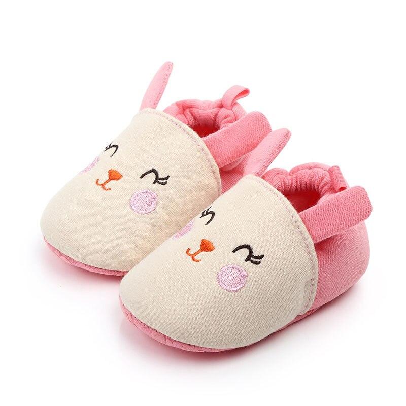 Зимние сапоги для маленьких девочек обувь новорожденного Зима Осень Теплые мягкие носки подошва плюшевые ботиночки - Цвет: A4