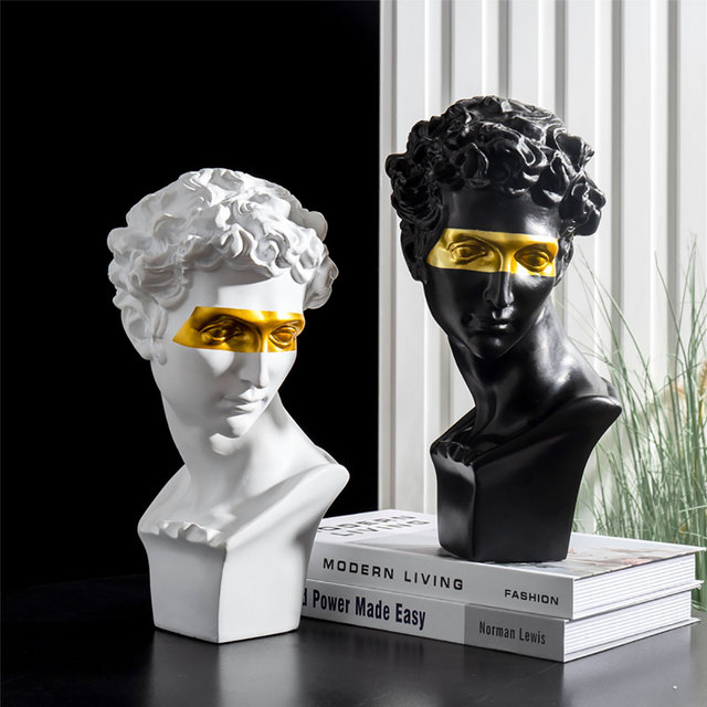 Home Decoration Accessories David People Resin Statue Europe Abstract Sculpture Statues For Decoration Modern Art Home Decorate 1