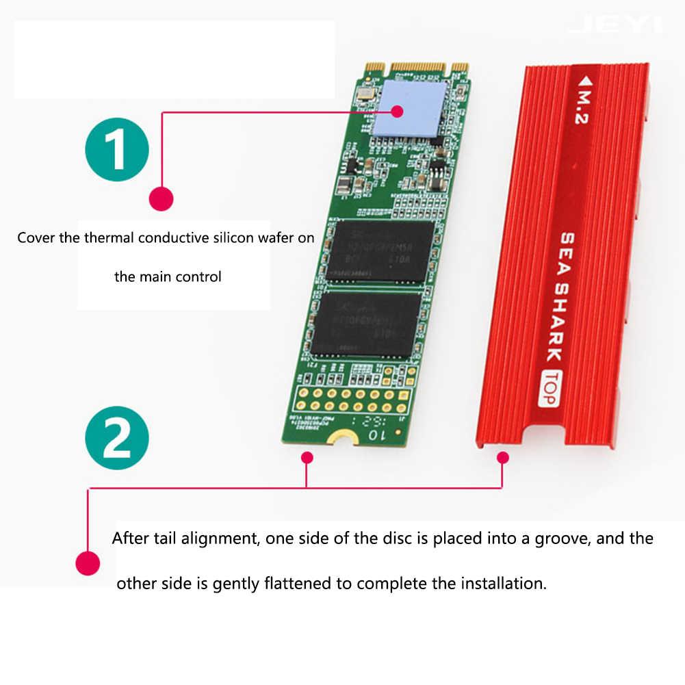 M.2 Siêu Mỏng Laptop Pad Tản Nhiệt Trình Điều Khiển Đĩa Cứng Làm Mát Thay Thế Máy Tính Thiết Thực SSD Tản Nhiệt Nhôm Giữ Nhiệt