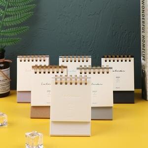 Mini Desk Calendar Desktop Calendar Daily Schedule Table Planner