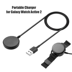 Image 4 - USB טעינת כבל מהיר מטען dock כוח מתאם עבור סמסונג גלקסי שעון פעיל 2 גלקסי שעון 3 צפו אבזרים