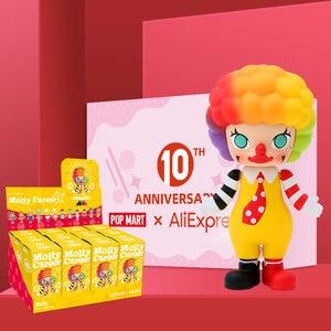 Image 2 - POP MART Molly Career art toys figure Random box gift Blind box Action Figure Birthday Gift Kid Toy free shipping