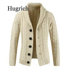 Sweater men's 2020 spring and autumn new knit sweater cardigan / fashion casual single-breasted lapel thick sweater coat