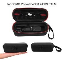 מיני תיק נשיאה עבור אוסמו כיס נייד אחסון תיק תיבת לdji כיס 2 תיק עבור FIMI כף כף יד Gimbal אבזרים