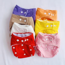 Моющиеся тканевые подгузники для мальчиков и девочек 12 шт многоразовые