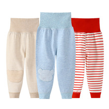 Dziecięce bawełniane ciepłe spodnie małe dziewczynki chłopięce spodnie dziecięce spodnie na jesień nowonarodzone dzieci zimowe ciepłe legginsy niemowlęce tanie rzeczy tanie tanio RUEKOO COTTON Luźne Unisex NONE Pełnej długości Pasuje prawda na wymiar weź swój normalny rozmiar Elastyczny pas