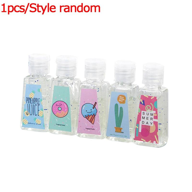30ml Portable Hand Sanitizer Cute Shape Disposable Hand Cleaning Gel Travel Rinse-free Antibacterial Moisturizing Hand Sanitizer
