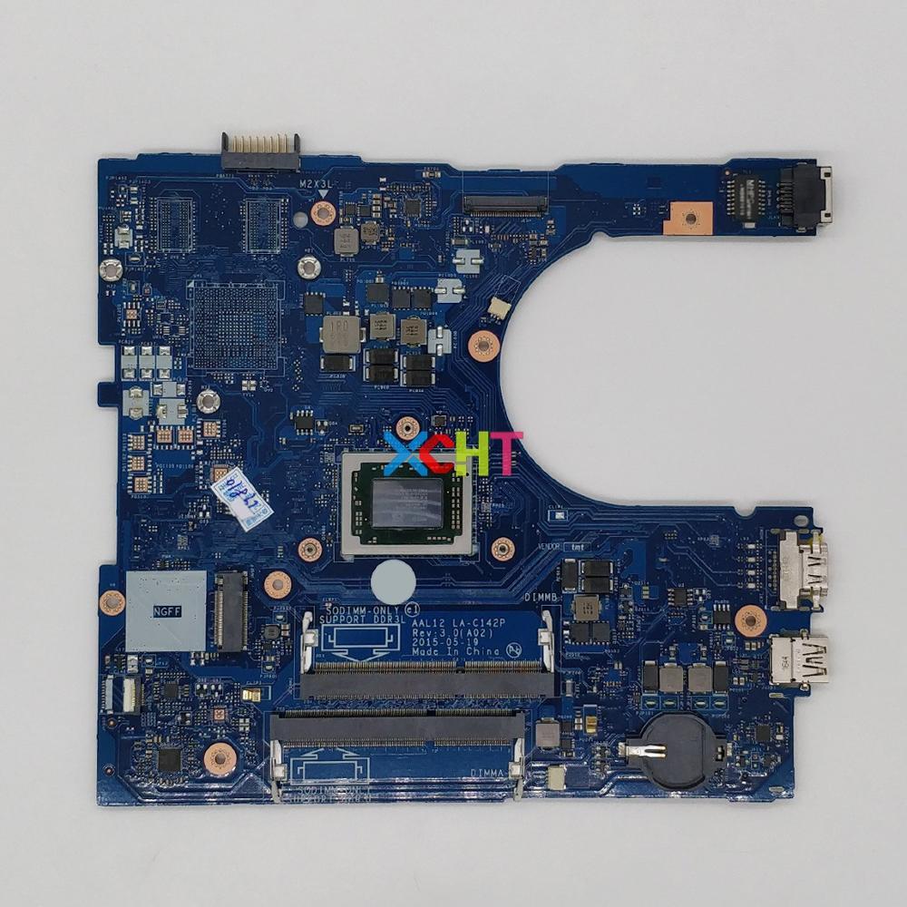 CN-0GD4HR 0GD4HR GD4HR LA-C142P w A10-8700P CPU para Dell Inspiron 5455 5555 5755 PC Laptop Motherboard Mainboard Testado