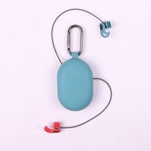 Design de inovação natação tampões de ouvido macio silicone penetração de som impermeável à prova de poeira tampões de ouvido mergulho água surf nadar