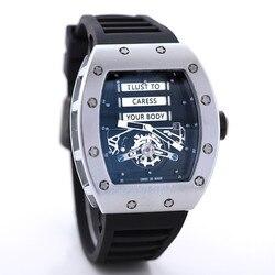 Лучший бренд RM 1: 1 такие же кварцевые механические часы Mille Мужские часы Роскошные Рихард Wristwacth Relogio Masculino водонепроницаемые