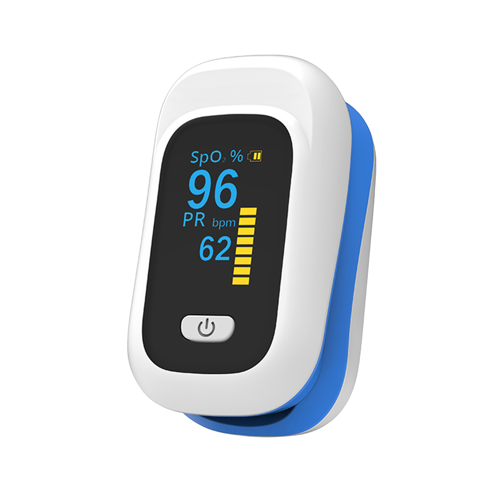 YK 80X Clip Type Health Care Automatic Off Home Use Fingertip Oximeter Light Alarm Battery Powered Mini Portable OLED Display