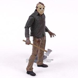 Image 4 - שישי את 13th 4 הסופי פרק ג ייסון Voorhees אימה פעולה איור דגם צעצוע Figurals