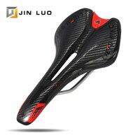Assento de bicicleta mountain bike mtb ou estrada  sela bmx com amortecedor de choque para corrida de triatlo  confortável e respirável  acessórios de ciclismo