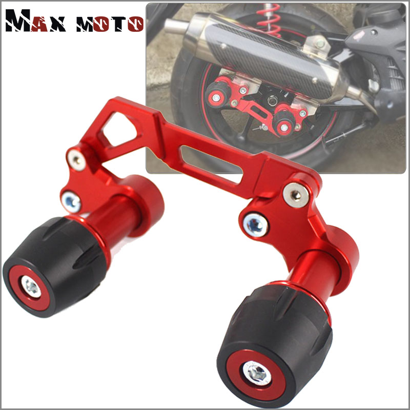 For YAMAHA NVX155 N-VX155 AEROX155 <font><b>NVX</b></font> <font><b>AEROX</b></font> <font><b>155</b></font> GDR155 Motorcycle CNC Adjustable Exhaust Pipe Frame Sliders Falling Protection image