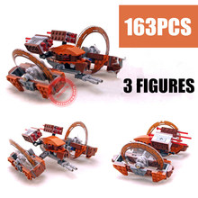 10370 Star Wars Building Blocks Toys Attack of the Clones Hailfire Droid Exclusive Sets Bricks Gifts compatiable with lego 1238pcs space wars hero droid bb 8 robots figure 05128 model building blocks assemble toys bricks jedi set compatible with lego