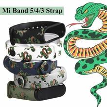 Wristband Bracelet Soft-Silicone 3-Strap Xiaomi for Replaceable Mi-3/4/5/..