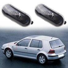 Стайлинг автомобиля, крышка бокового габаритного фонаря 1J0 949 117, черный и белый автомобильный боковой маркер, светильник, чехол для VW Passat Jetta ...