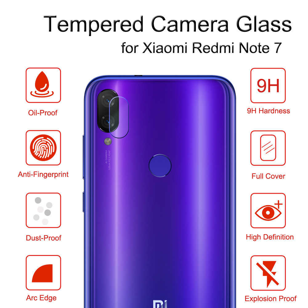 Xiao mi kırmızı mi not 8 7 8T K20 Pro Xiao mi mi 9 T kapak 2 in 1 kamera Lens ekran koruyucu arka koruma halka durumda