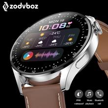 Huawei-reloj inteligente Wear 3 Pro para hombre, accesorio de pulsera resistente al agua IP67 con pantalla táctil, control del ritmo cardíaco, llamadas y Bluetooth, compatible con teléfono, 2021