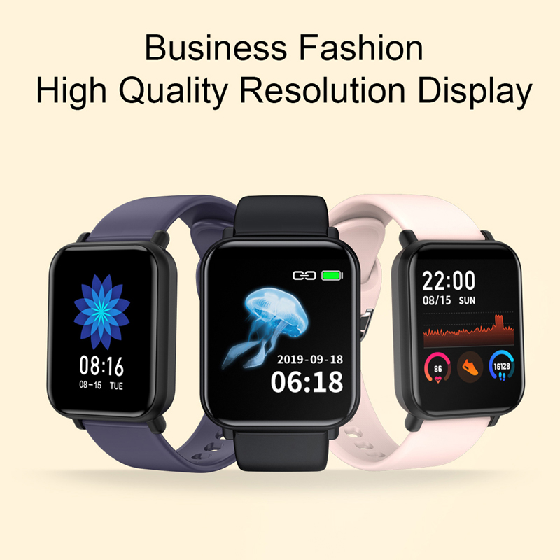 Smart Watch R7 Women Man Heart Rate Blood Oxygen Pressure Bracelet IP68 Sport Fitness Tracker SmartWatch For IOS Android VS P8