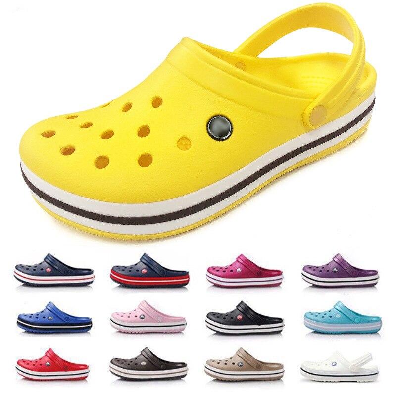 Lovers Clog Comfortable Women Men Classic Sandals Summer Outdoor Beach Shoes Flip Flop Slip On Garden Water Slippers