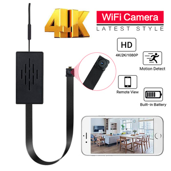 4K 1080P WiFi IP Mini Camera Module Motion DV P2P Camera Video Recorder Home security mini camcorder remote control Hidden TF