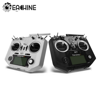 FrSky ACCST Taranis Q X7 Transmitter 2.4G 16CH Mode 2 White Black International Version For FPV RC Drone Quadcopter Spare Parts