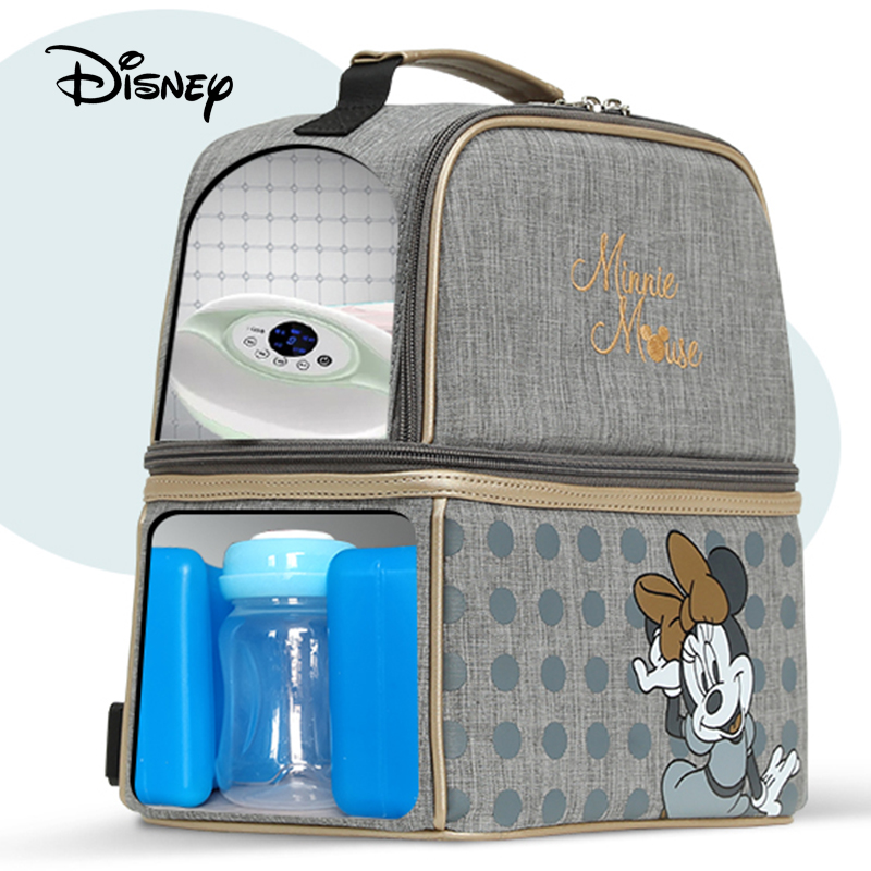 Disney Diaper Mummy Baby Bags Mom Handbag Bottle Diaper Diagonal Cross-back Maternity Wet Nappy Boy Organizer Pram Wheelchairs