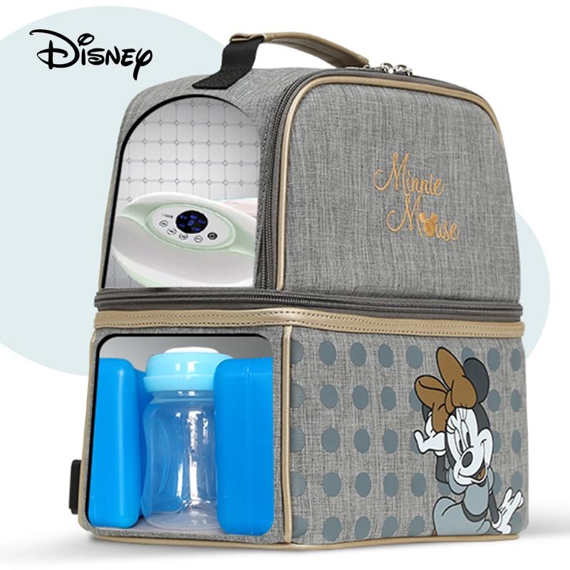 Disney Diaper Mummy Baby Bags Mom Handbag Bottle Diaper Diagonal Cross-back Maternity Wet Nappy Boy Organizer Pram Wheelchairs