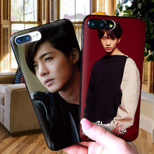 EXO Baek Hyun Case For iPhone 6 6S plus Case Luxury Black Case For iPhone 5 5S SE 7 8 Plus X XS Max XR Cover(China)