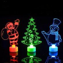 Christmas Santa Claus Light Christmas Tree Decorations Christmas Decorations For Home Navidad ecor New Year Christmas Ornament