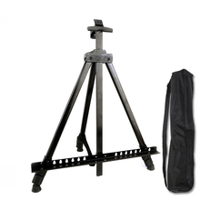 Portable Metal Easel Adjustable Sketch Travel Thicken Triangle Aluminum Alloy Drawing For Artist Art Supplies
