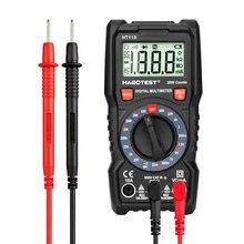 Sonda DC AC Mini multimetro digitale voltmetro Tester di tensione tensione Ampere Ohm Tester retroilluminazione LCD serie HABOTEST 113
