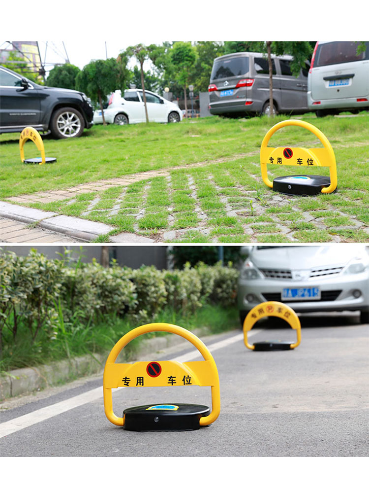 Parking Obstacle Intelligent Induction Waterproof Anti-collision Thickening Parking Remote Control Parking Lock  Parking Barrier