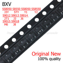 50PCS S8050 S8550 SS8050 SS8550 S9012 S9013 S9014 S9015 S9018 J3Y CHIQUEIRO Y1 Y2 2T1 J3 J6 M6 J8 SMD Transistor SOT23